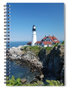 Portland Lighthouse 2 Spiral Notebook