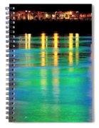 Portland Lights 22971 F Spiral Notebook