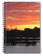 Portland Main Harbor Spiral Notebook