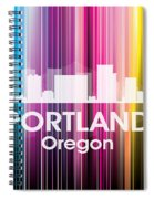 Portland Or 2 Spiral Notebook