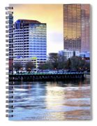Portland Reflections 22929 Hdr Spiral Notebook