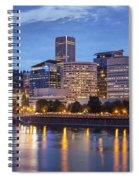 Portland Skyline Pm2 Spiral Notebook