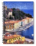 Porto Stefano In Italy Spiral Notebook