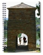Portomarin Trekkers Spiral Notebook