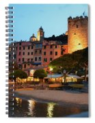 Portovenere At Night Spiral Notebook