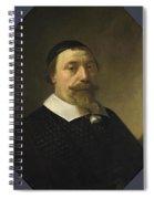 Portrait Of A Bearded Man Spiral Notebook