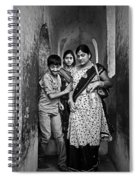 Portrait Of A Candid Moment Spiral Notebook