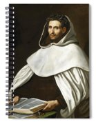 Portrait Of A Carmelite Spiral Notebook
