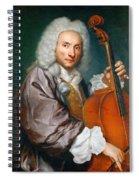 Portrait Of A Cellist Spiral Notebook