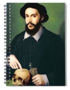 Portrait Of A Gentleman With His Right Spiral Notebook