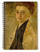 Portrait Of A Jewish Boy  Spiral Notebook