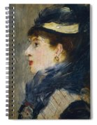 Portrait Of A Lady Spiral Notebook