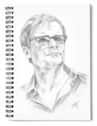 Portrait Of A Man Spiral Notebook