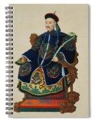 Portrait Of A Mandarin Spiral Notebook