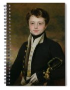 Portrait Of A Midshipman Spiral Notebook