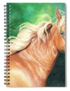 Portrait Of A Palomino Spiral Notebook