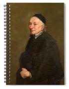 Portrait Of A Priest Spiral Notebook