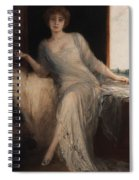 Portrait Of A Seated Woman Spiral Notebook