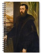 Portrait Of A Venetian Senator Spiral Notebook