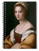 Portrait Of A Woman Spiral Notebook