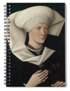 Portrait Of A Woman Of The Hofer Family Spiral Notebook