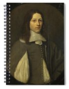 Portrait Of A Young Man In Grey Spiral Notebook