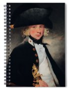 Portrait Of A Young Midshipman, C.1796 Spiral Notebook