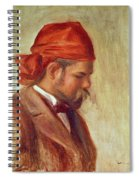 Portrait Of Ambroise Vollard 1868-1939 Oil On Panel Spiral Notebook