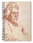 Portrait Of An Old Lady, 1938 Spiral Notebook