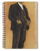 Portrait Of Arcadi Mas I Fondevila Spiral Notebook