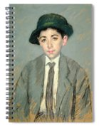 Portrait Of Charles Dikran Kelekian Spiral Notebook