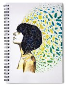 Portrait Of Cindy Clark Spiral Notebook