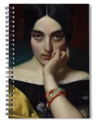 Portrait Of Clementine Spiral Notebook