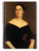 Portrait Of Cornelia Knott Miltenberger Spiral Notebook