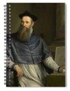 Portrait Of Daniele Barbaro Spiral Notebook