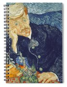 Portrait Of Dr Gachet Spiral Notebook