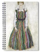 Portrait Of Edith Schiele, The Artists Spiral Notebook