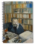 Portrait Of Edmond Duranty, 1879 Spiral Notebook