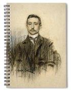Portrait Of Eduardo Chicharro Spiral Notebook