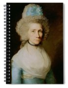 Portrait Of Elizabeth Caldwell Spiral Notebook