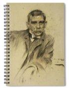 Portrait Of Emili Sala Spiral Notebook