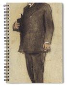 Portrait Of Emili Vilanova Spiral Notebook