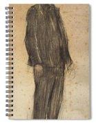 Portrait Of Enric Morera Spiral Notebook