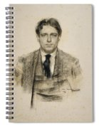 Portrait Of Eugeni D'ors Spiral Notebook
