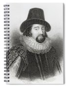 Portrait Of Francis Bacon Spiral Notebook