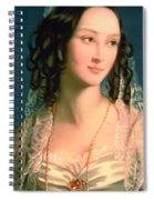 Portrait Of Furstin Susupolt Spiral Notebook