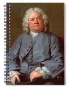 Portrait Of George Arnold Esq. Of Ashby Spiral Notebook