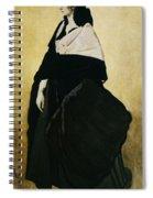 Portrait Of Ida Lvovna Rubinstein Spiral Notebook
