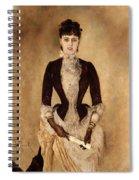 Portrait Of Isabella Reisser Spiral Notebook