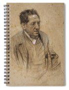 Portrait Of Iscle Soler Spiral Notebook